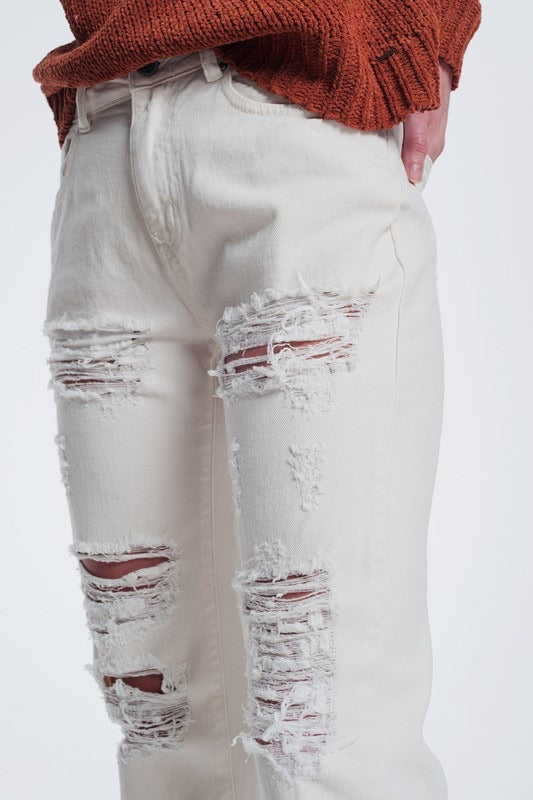 Calvin Distressed Denim