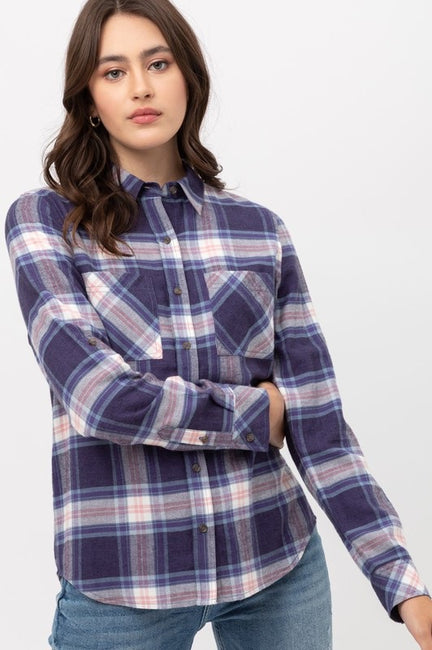 Delilah Plaid Shacket