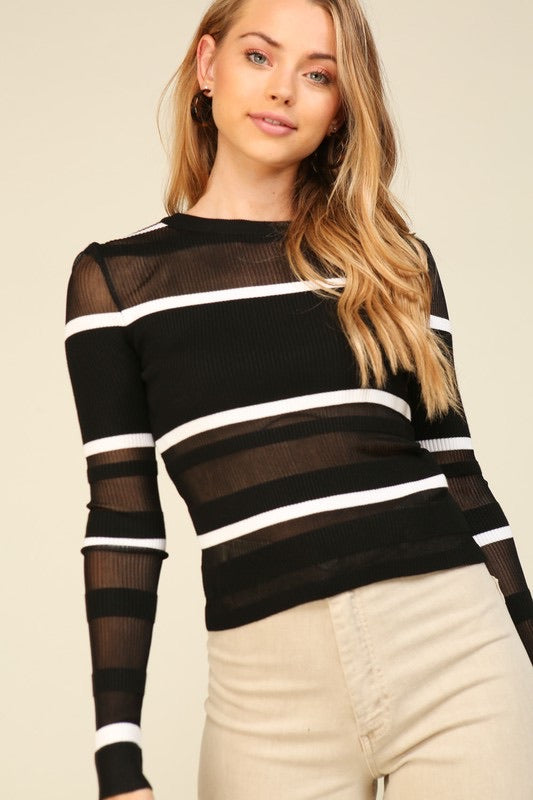 Kinsley Stripe Top