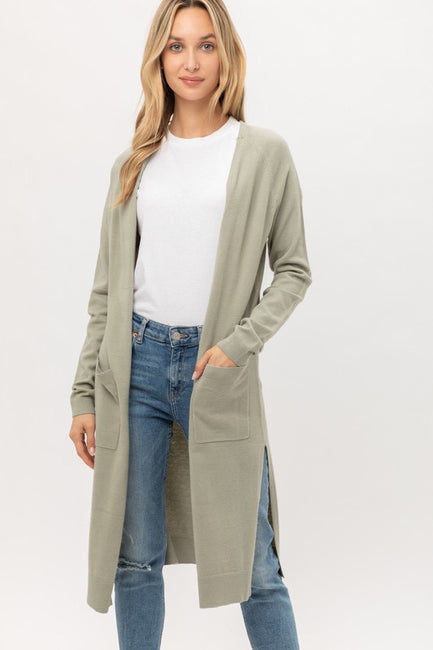 Greater Length Cardigan