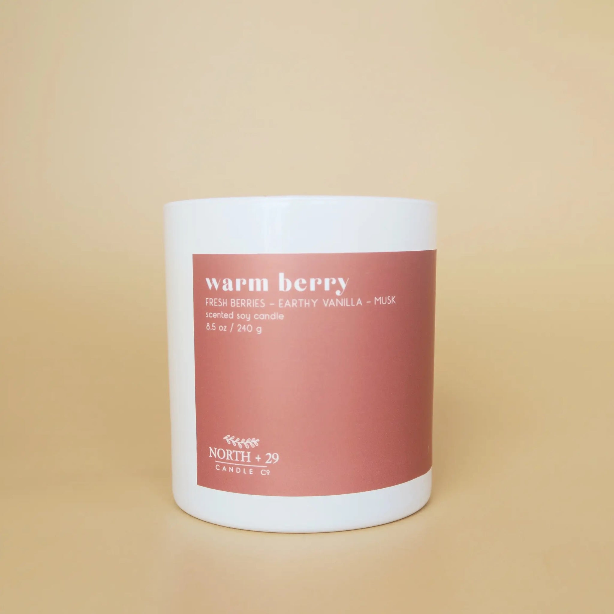 Warm Berry Soy Candle