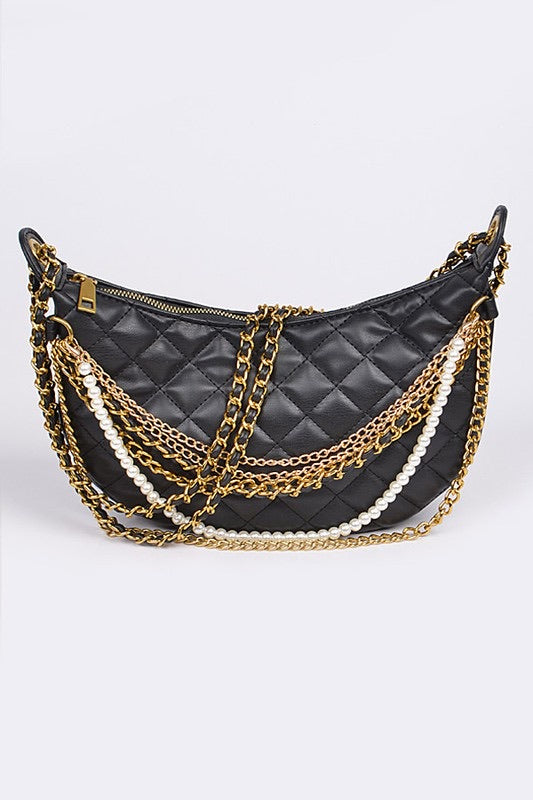 Pearls + Chains Purse