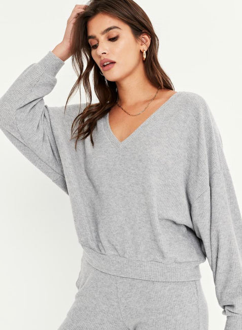 PST Brush Rib Sweater