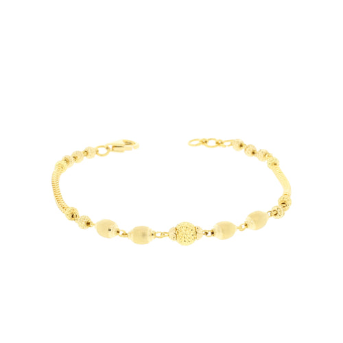 Contemporary Yellow Gold Bracelet