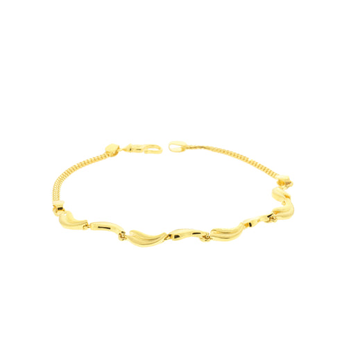 Lightweight Gold Bracelet