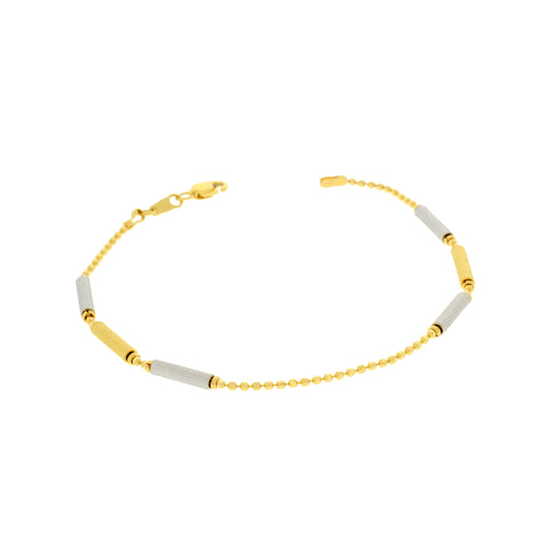 Graceful Two-tone Bracelet