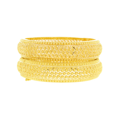 Beautifully Rounded Classic Bangles