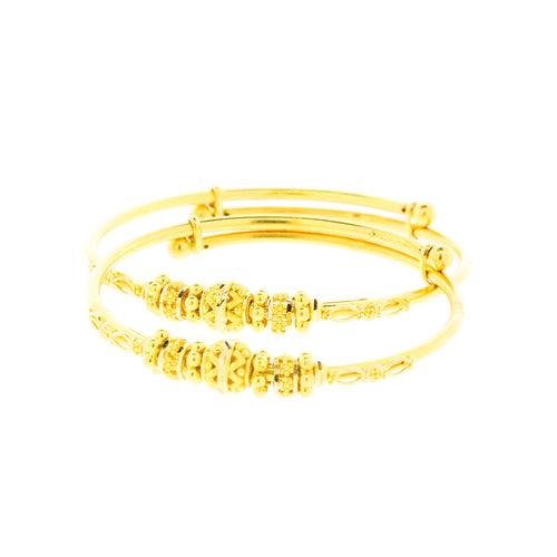 Lightweight Adjustable Baby Bangles