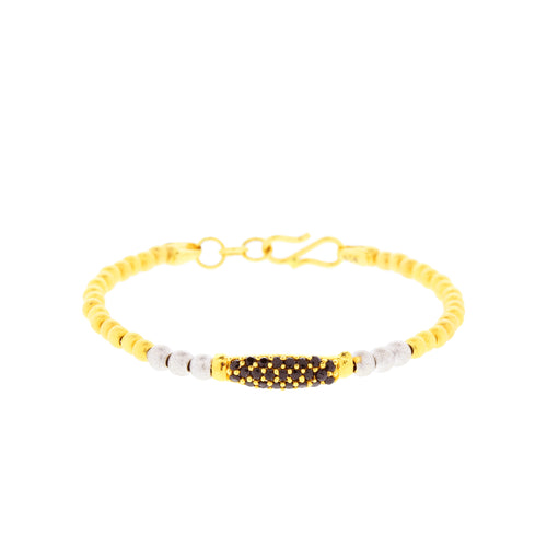 Chic Two-tone Baby Bracelet