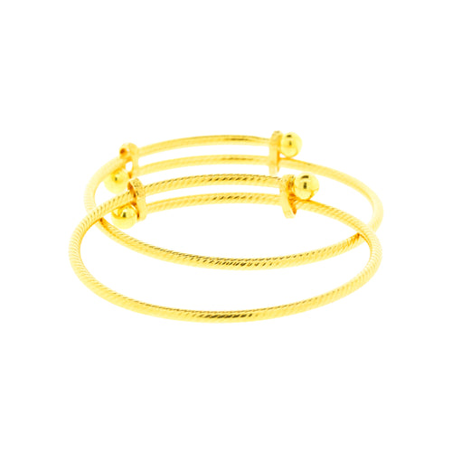 Adjustable Pipe Baby Bangles