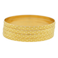 FANCY GOLD BANGLES