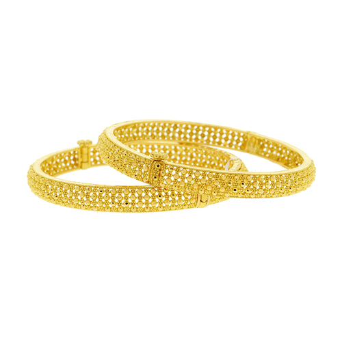 Delicate Bead Style Bangles