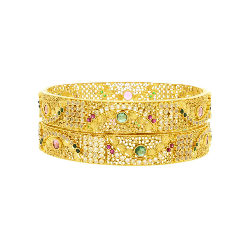 Exclusive Antique Bangles With Gemstone