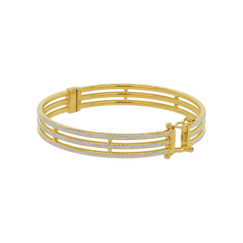 Contemporary Bangle Bracelet
