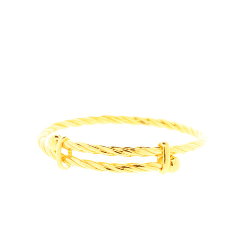 Rope Pipe Baby Bangle