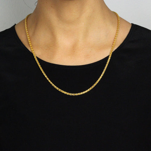 Plain Gold Chain