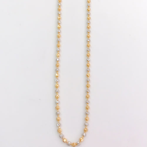 Two-Tone Bead Chain