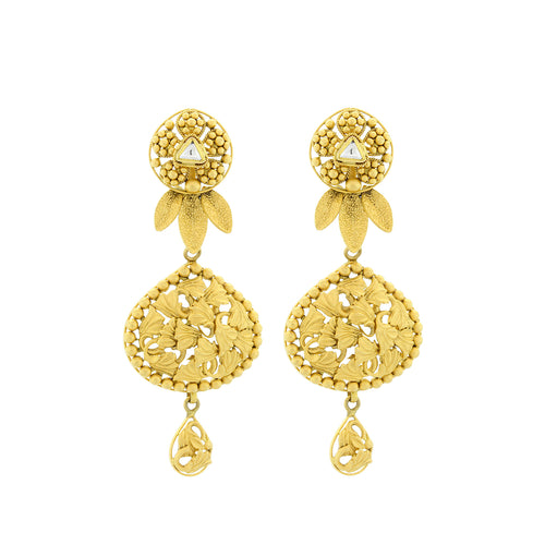 Kundan Antique Earrings