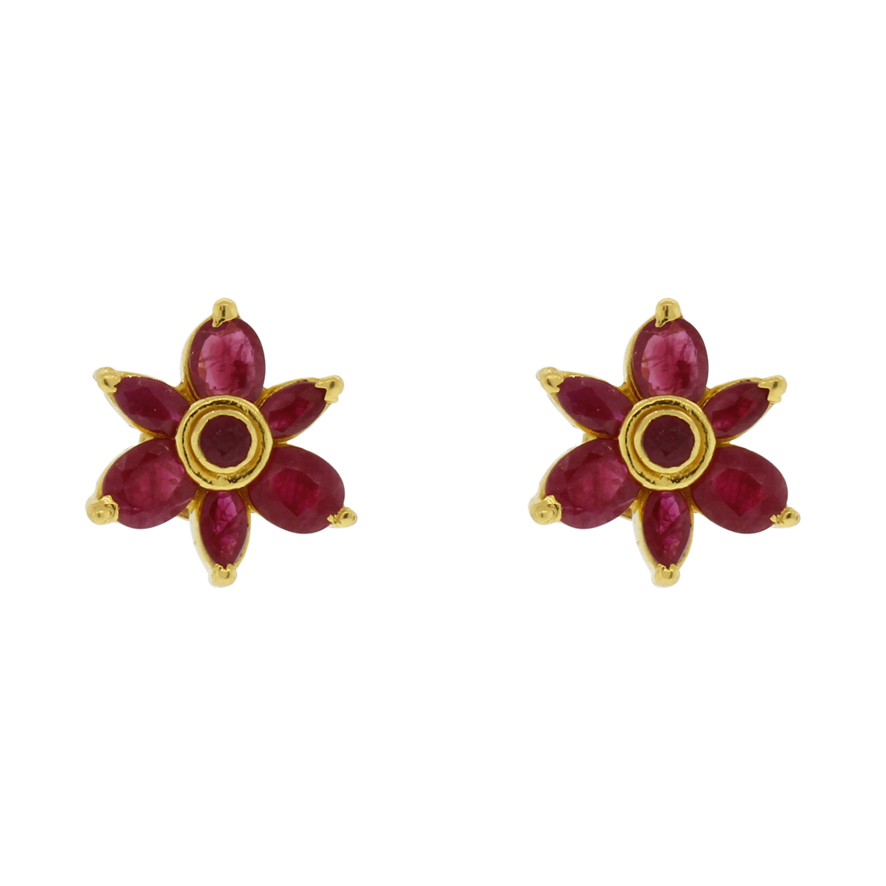 il earrings ejjo en zoom sg studsgenuine listing gold jewellery solid stud fullxfull ruby