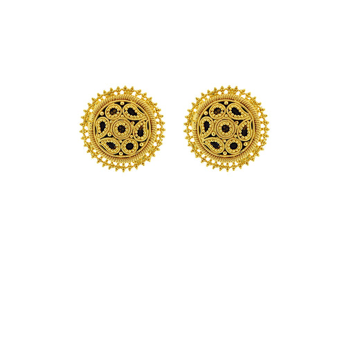 Gold Earring Tops