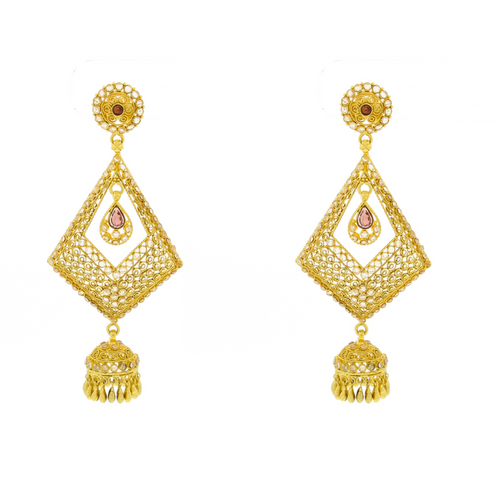 Antique Earrings with Jhumkie Bottom