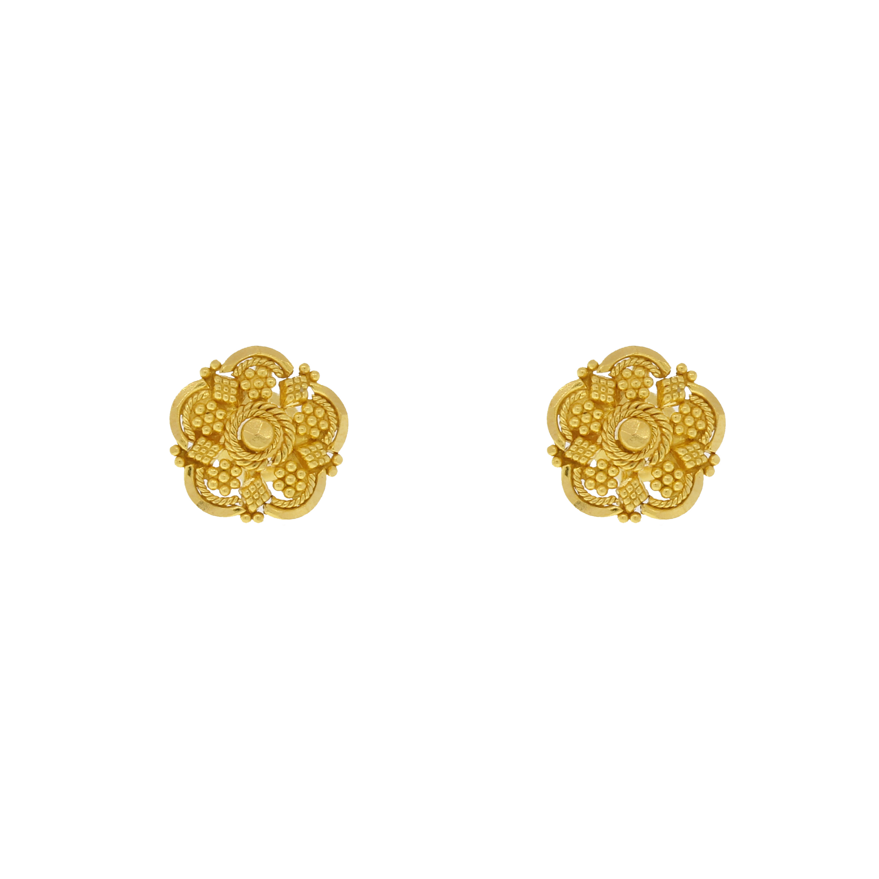 Traditional Gold Earrings – Andaaz Jewelers