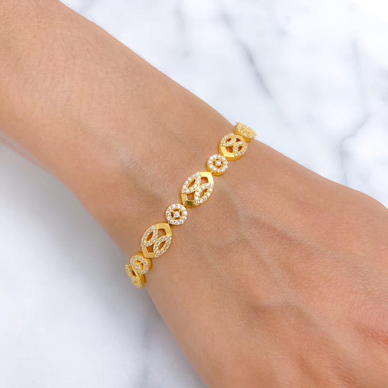 Special CZ All Around Bracelet