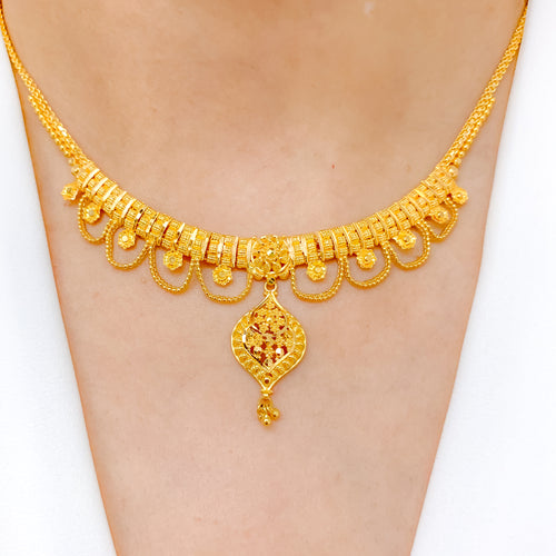 Lightweight Charming Gold Set