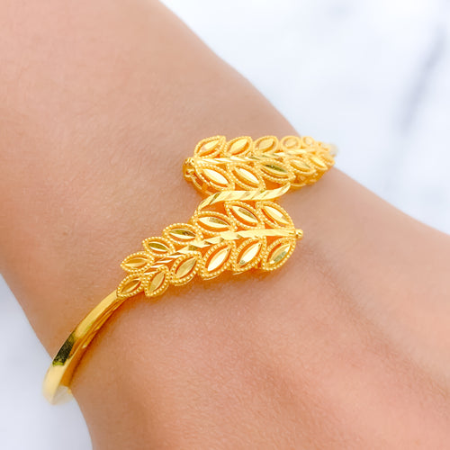 Exclusive Dual Vinery Bangle Bracelet