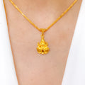 Traditional Lakshmi Pendant