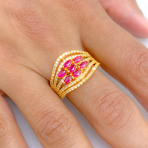 Opulent Statement Ring