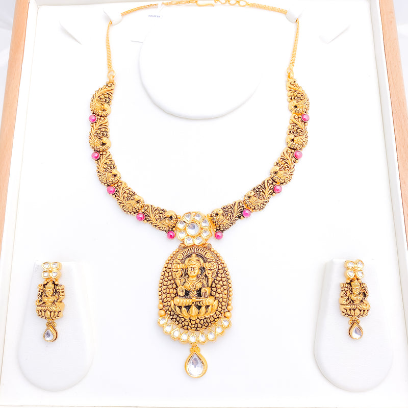 Laxmi Necklace Set
