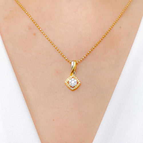Elegant Everyday Diamond Pendant
