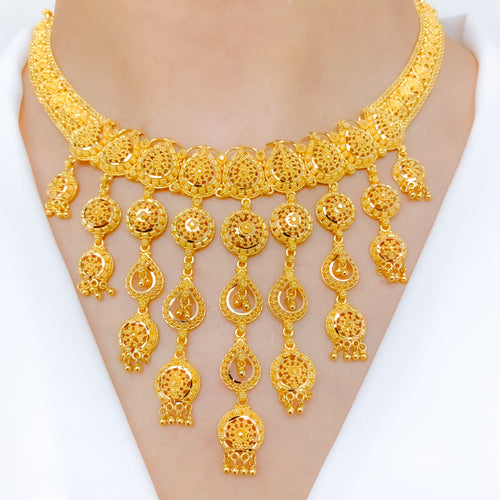 Palatial Traditional Necklace Set