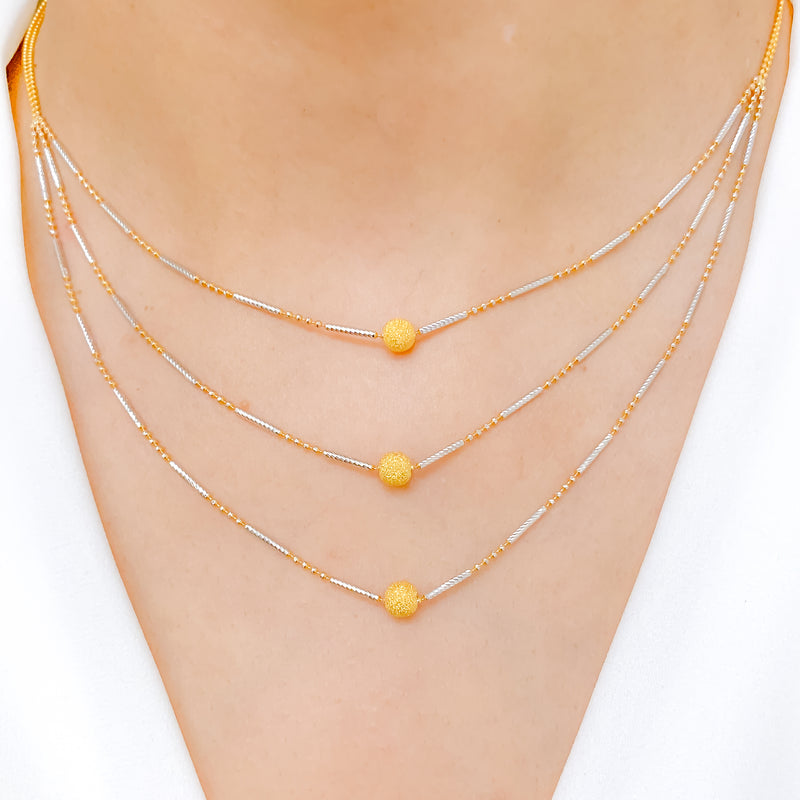 Lightweight Three Lara Necklace Set