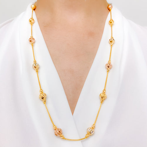 Chic High Finish Long Necklace