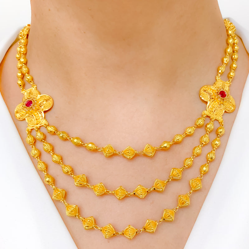 Traditional Lara Necklace Set
