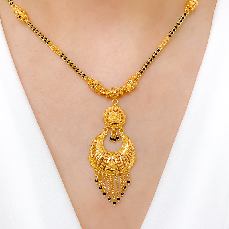 Classic Tassel Mangal Sutra Necklace