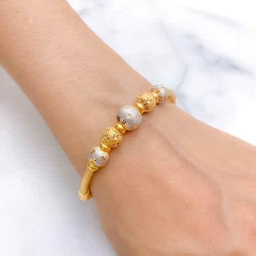 Chic Five Accent Bangle Bracelet