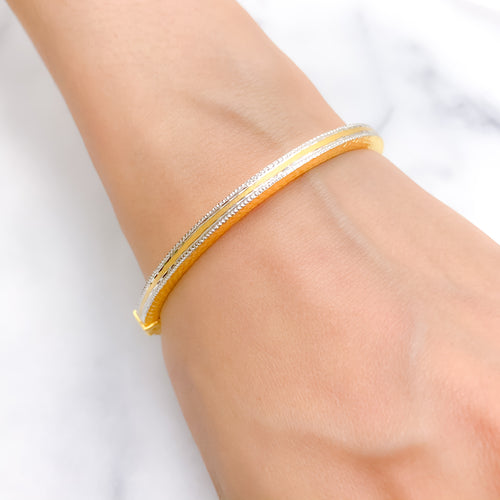 Lightweight Everyday Bangle Bracelet