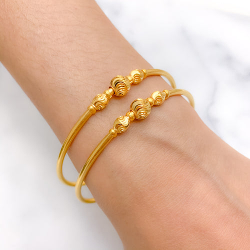 Adult Adjustable Lightweight Bangle Pair