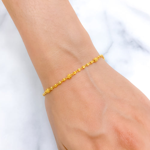 Everyday Gold Beaded Bracelet