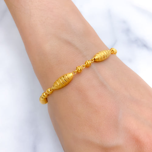 Royal High Finish Statement Bracelet