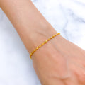 Charming Sparkle Finish Bracelet