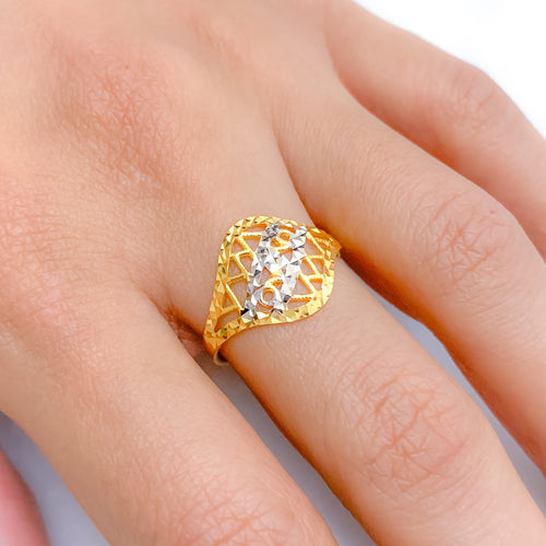 Stylish Lightweight Ring