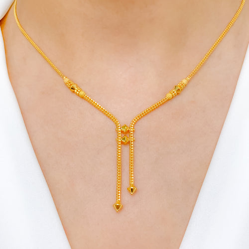 Smart Two Chain Necklace Set