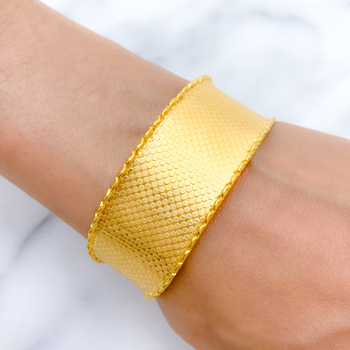 Modern Matte Finish Bangle Cuff