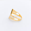 Parallel Dotted Two-Tone Ring