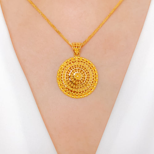 Lovely Round Pendant
