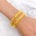 Traditional Dressy Bangle Pair